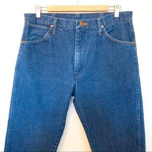 Wrangler Men Size 34x32 Jeans Western Cowboy